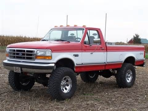 Old Ford Trucks Lifted Started with this truck got it.     Oh my god! This is exactly my truck!!! I need to get the cab lights going and rust spots fixed, but this is my truck!