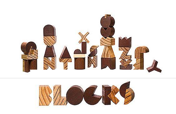 Alphabet Blocks by Pat Kim | moddea