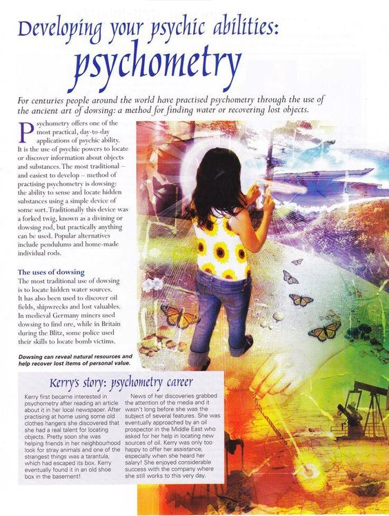 Developing Your Psychic Abilities: Psychometry