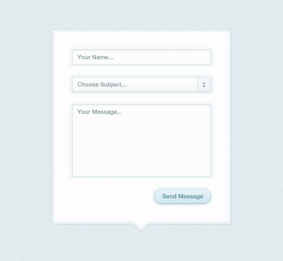 Simple contact form Web forms Pinterest - contact form template word