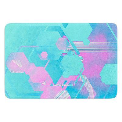 KESS InHouse Emersion by Infinite Spray Art Bath Mat