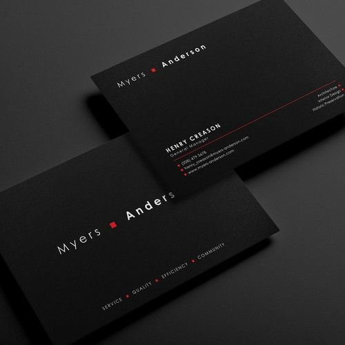 Professional Business Card Design For Architectural Firm Business Card Contest D Business Card Design Professional Business Card Design Business Cards Creative