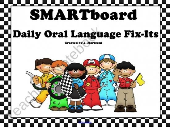 Smartboard Daily Oral Language FixIts and Printable Worksheet – Daily Oral Language Worksheets