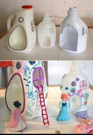 Diy doll house - for playmobil?