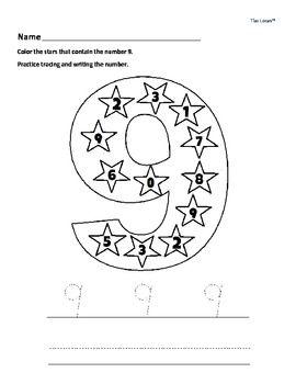 Number Names Worksheets number practice for kindergarten : Kindergarten, Colors and Ideas on Pinterest