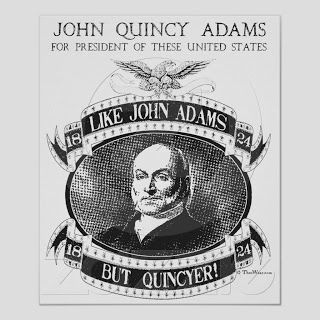 John Quincy Adams Campaign Poster (1824)