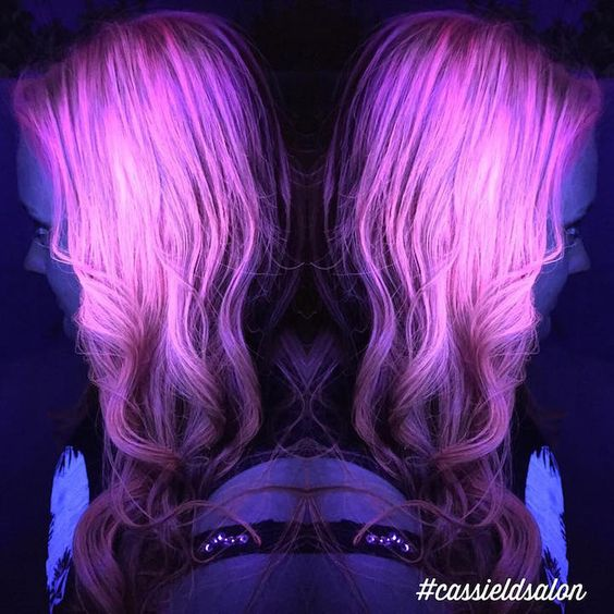 Glow-In-The-Dark Hair Is the Latest Fun Hair Trend to Light Up Your Life - My…