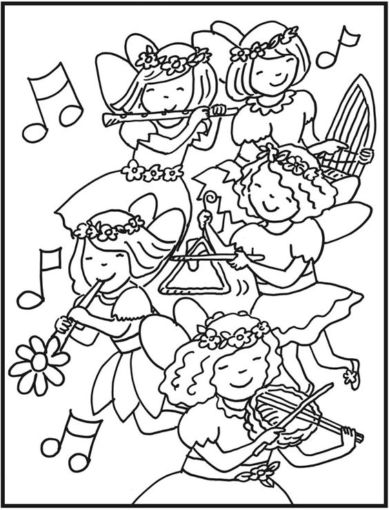 A Pile Of Books Coloring Page Book Pages Open Clip Sketch