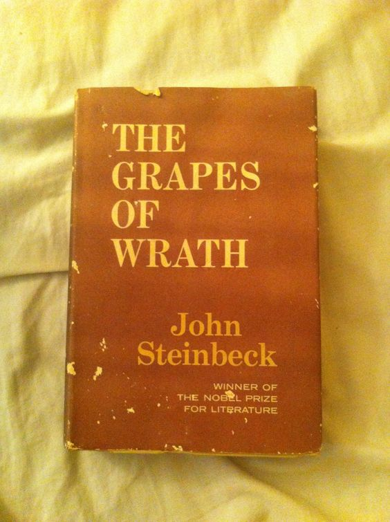 a summary of the book grapes of wrath Rick wartzman talks about his book [obscene in the extreme: the burning and  banning of john steinbeck's the grapes of wrath]  for the blind lawyer  and make him into characters in the book host: had.