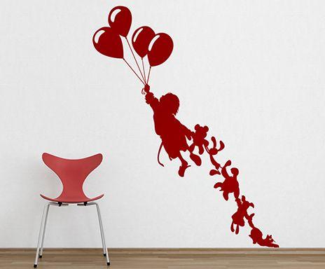 Enfant aux peluches, rouge cardinal *Paristic*