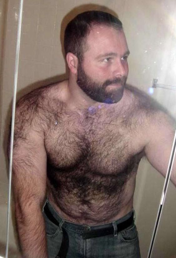 Bearded and hairy