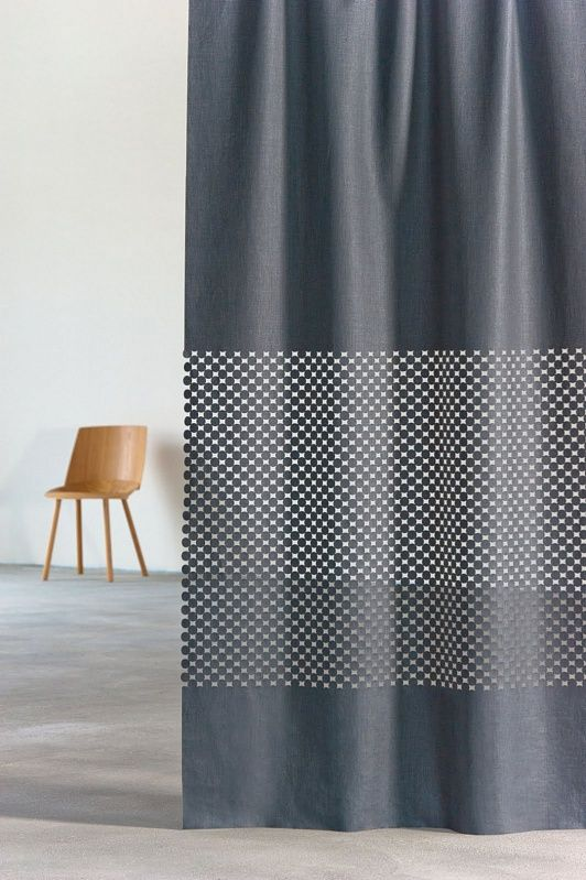 Curtain Fabric In Linen This Extravagant New Laser Article On Coated Cupro Captivates With Its Sumptuous Material Weight And Harmony Of Striking
