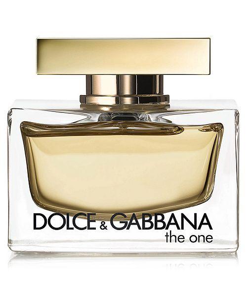 Dolce Gabbana Dolce Gabbana The One Eau De Parfum 2 5 Oz Reviews All Perfume Beauty Macy S Dolce Gabbana Perfume First Perfume Perfume