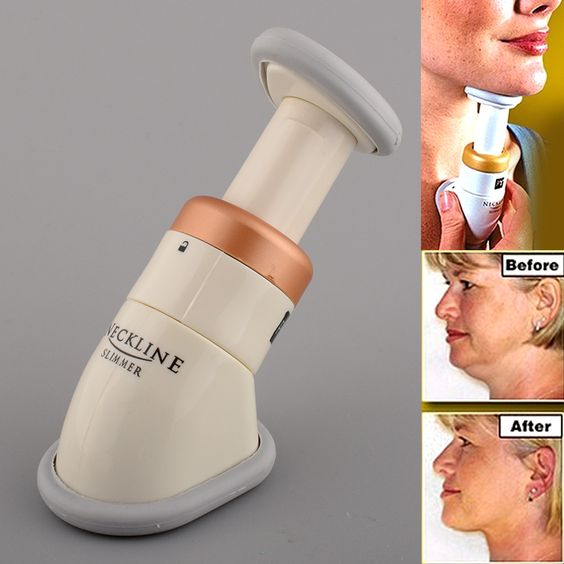 Hot New High Quality Neckline Slimmer Double Thin Reduce Chin Jaw Massage…: