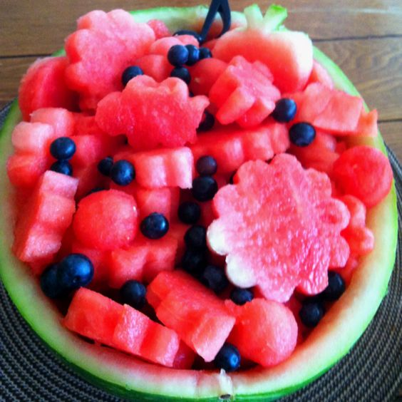 Water melon basket.