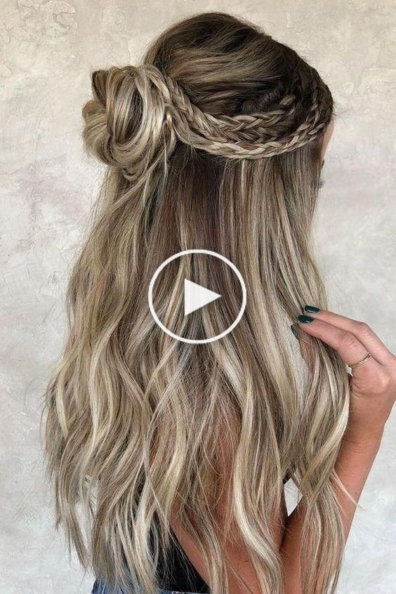 10 Eye Catching Winter Formal Hairstyles To Try In This Winter In 2020 Hair Styles Braided Hairstyles Long Hair Styles