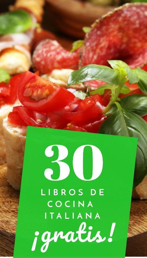 30 Libros De Cocina Italiana Gratis [PDF] En 2020