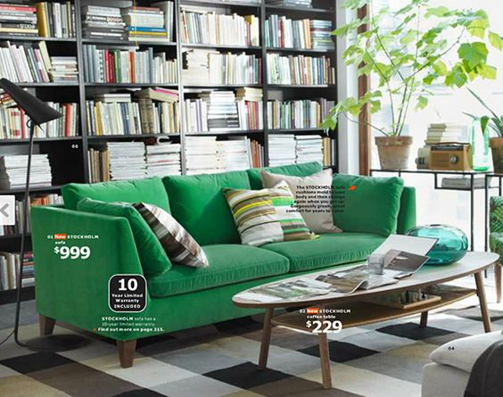 love the green velvet couch ikea furniture pinterest ikea stockholm stockholm and velvet. Black Bedroom Furniture Sets. Home Design Ideas