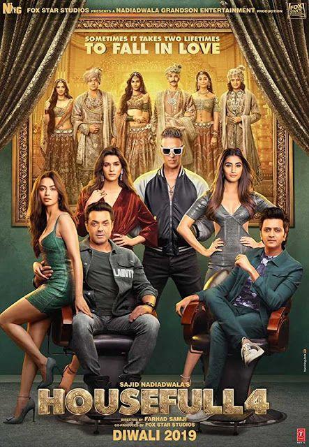 Housefull 4 Download 2019 Hindi Hd 480p 400mb 720p 1 1gb 1080 2 1gb In 2020 Hd Movies Download Housefull 4 Bollywood Movies