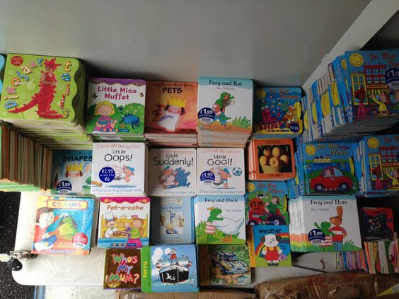 Wholesale Clearance Joblot of 50 New Assorted Baby Board Books (Now Reduced)