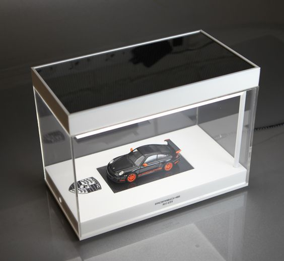 Illuminated Display Case For Porsche 911