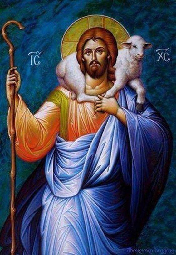 Jesus Christ the Good Shepherd dans STUDI DI VARIO TIPO 342de3c91f5cf5c281a2eca5cb4e13c8