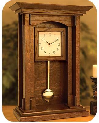 Arts & Crafts Wall Clock | clocks | Pinterest | Craftsman, Style and ...