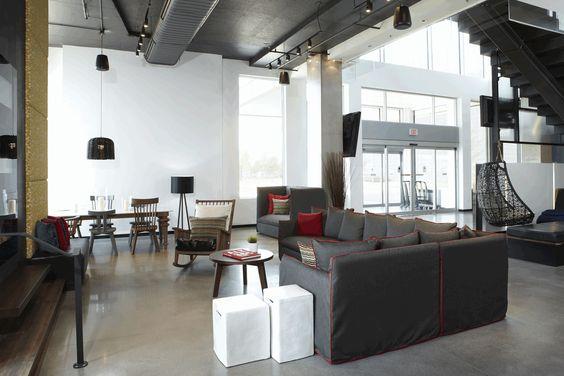 LEMAYMICHAUD | ALT | Toronto | Pearson Airport | Architecture | Design | Hospitality | Art | Lobby | Entrance |