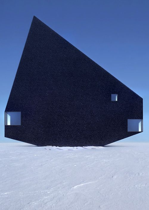 Manipulated buildings by Philipp Schaerer