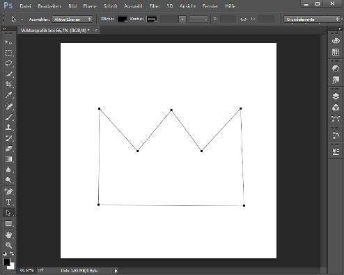 vektorgrafik mit photoshop erstellen so geht s apfel vektor stier