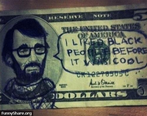 With it being black history month and all I feel that this picture had become more appropriate