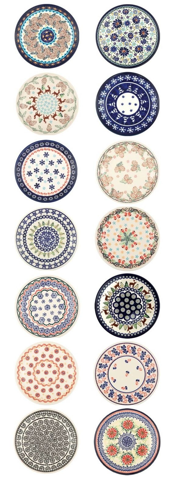 """Polish pottery """"BOLESŁAWIEC""""  I love Polish Pottery but I have all I can store now. Still, I'd love some of these!"""