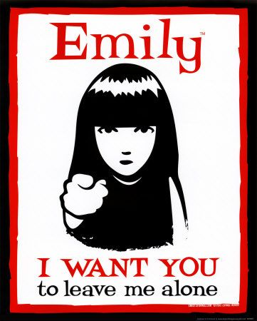 Emily: Emily Leave, Emily Strange, Emily The Strange Quotes, Bon Bon Emily Illustration, Emily Feminista, De Emily, Emily Dysinger