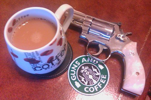 S&W 66 with colombian coffee.