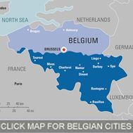 The castles and gardens of Belgium. There are more castles per square mile in Belgium than anywhere else in the world.