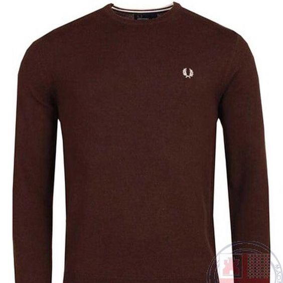 "#FredPerry ""Clasicc Crew Neck Sweater"" #jersey #sweater #lanamerino #merinowool #crewneck #cuelloredondo #fredperryauthentic #nuevacoleccion #newcollection #AW15  http://www.rivendelmadrid.es/shop/marcas-de-rivendel-madrid/hombre/fred-perry/jerseys.html"
