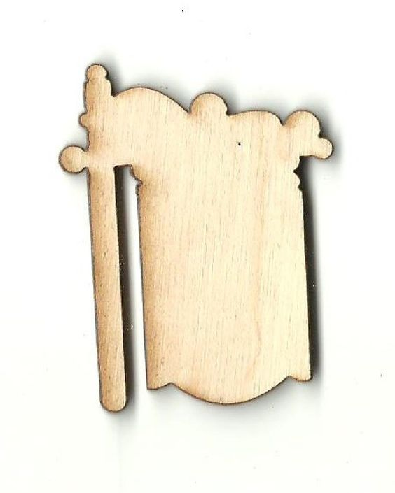 Sign - Laser Cut Wood Shape SGN33
