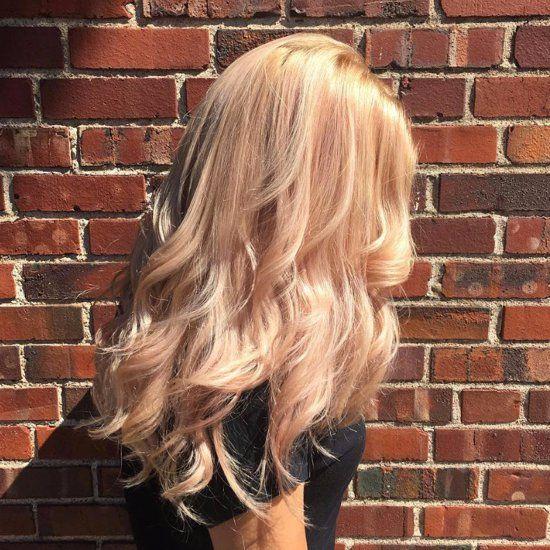 Cheveux Blonds Rose Gold   .pinterest: @stylexpert ❣