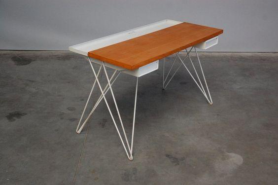 Coen de Vries Pilastro desk Holland 1956