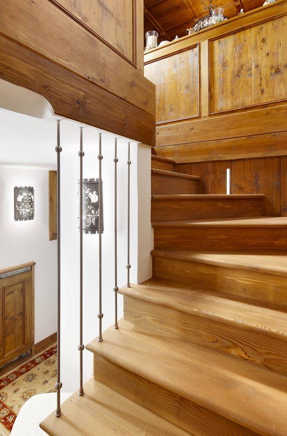 7 escaleras de madera fant sticas ideas y art culos y - Escaleras de cristal y madera ...