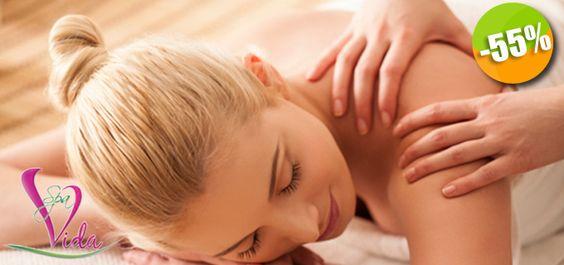Vida Spa - $337 en lugar de $750 por 1 Tratamiento de 120 Minutos con Exfoliación Corporal y Masaje Relajante con Aromaterapia Click http://cupocity.com