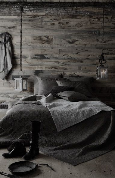 Bedrooms Rustic Bedrooms And Grey On Pinterest