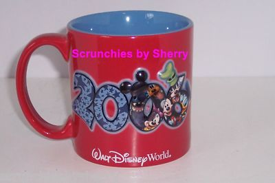 Walt Disney World 2006 Mickey Donald Coffee Mug Cup