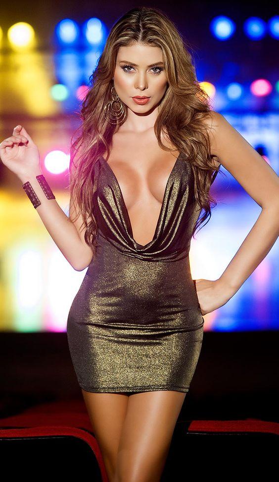 Sexy open dress
