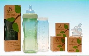 5 Phases: a hybrid glass baby bottle : glass insert, BPA free plastic sleeve. #babygear @BabyCenter