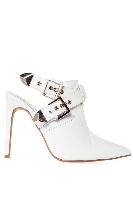 Jeffrey Campbell Shoe Chaka in White