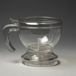 Gravity tea pot