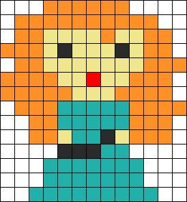 Disney Brave Perler Bead Pattern / Bead Sprite: