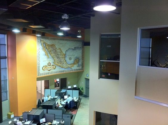 Office Decor Idea | Wall Murals | Customer Example - TPW Inc. in Loredo, Texas