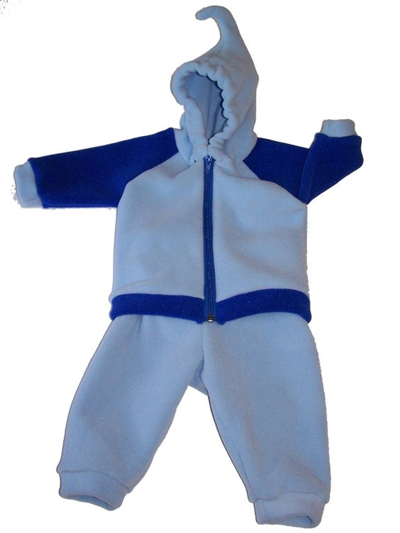 Keep baby warm in this handmade jacket and pant set from boysenberryvt.com